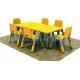 Juego de mesa + 6 sillas mini